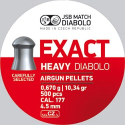 JSB Diabolo Exact Heavy 4,52MM-0
