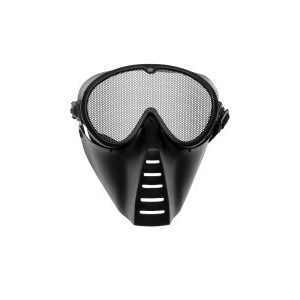 Grid Mask Medium Black-0